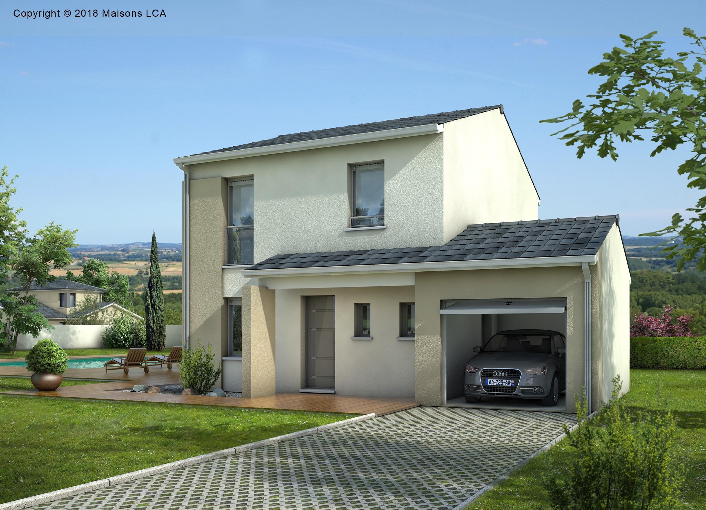 Maisons + Terrains du constructeur LCA CREON • 96 m² • SAINT JEAN DE BLAIGNAC