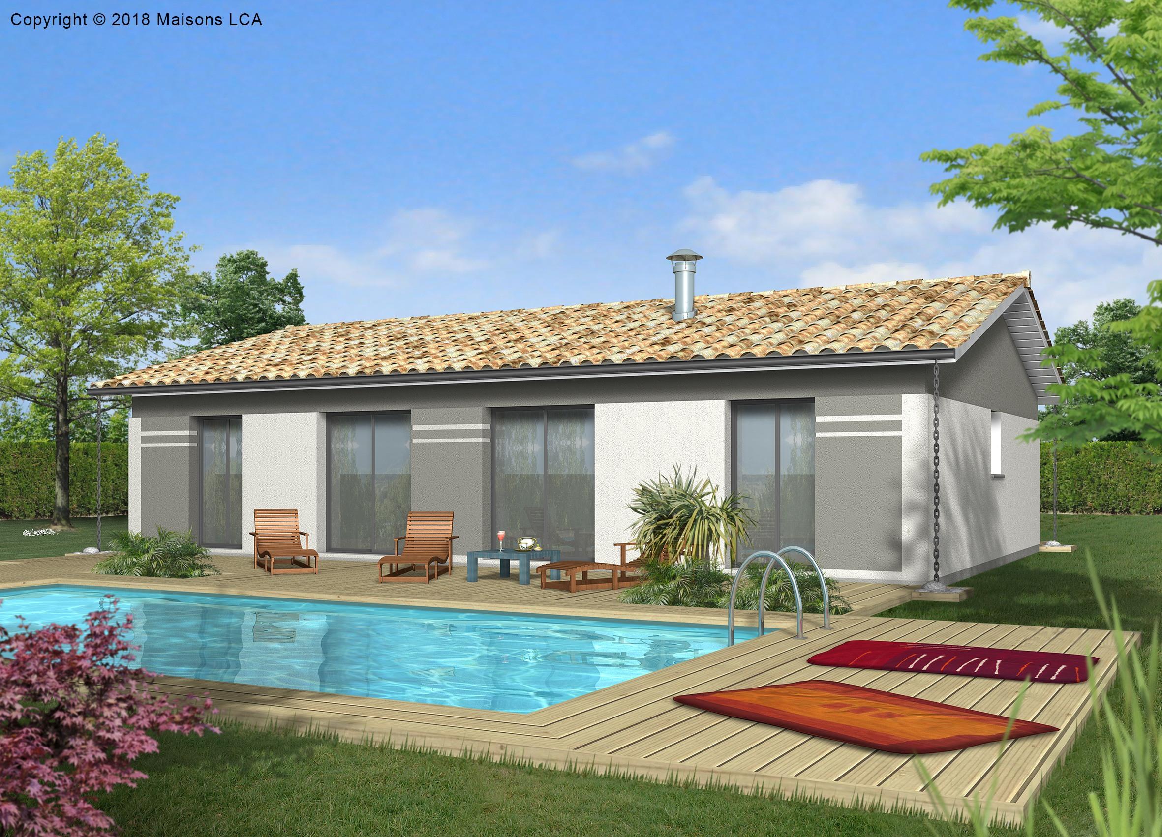 Maisons + Terrains du constructeur LCA CREON • 89 m² • CASTILLON LA BATAILLE