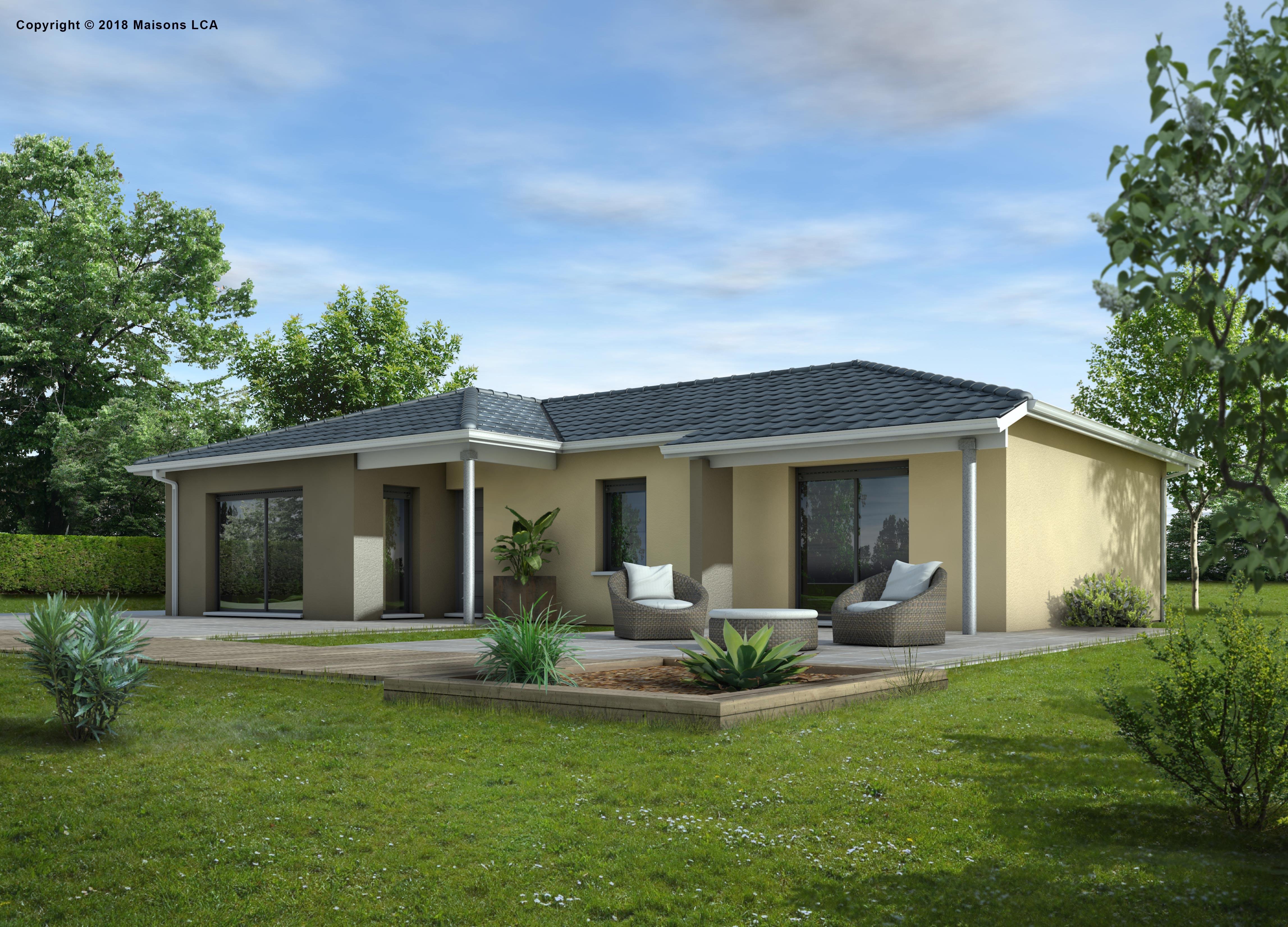 Maisons + Terrains du constructeur LCA CREON • 95 m² • SAINT DENIS DE PILE