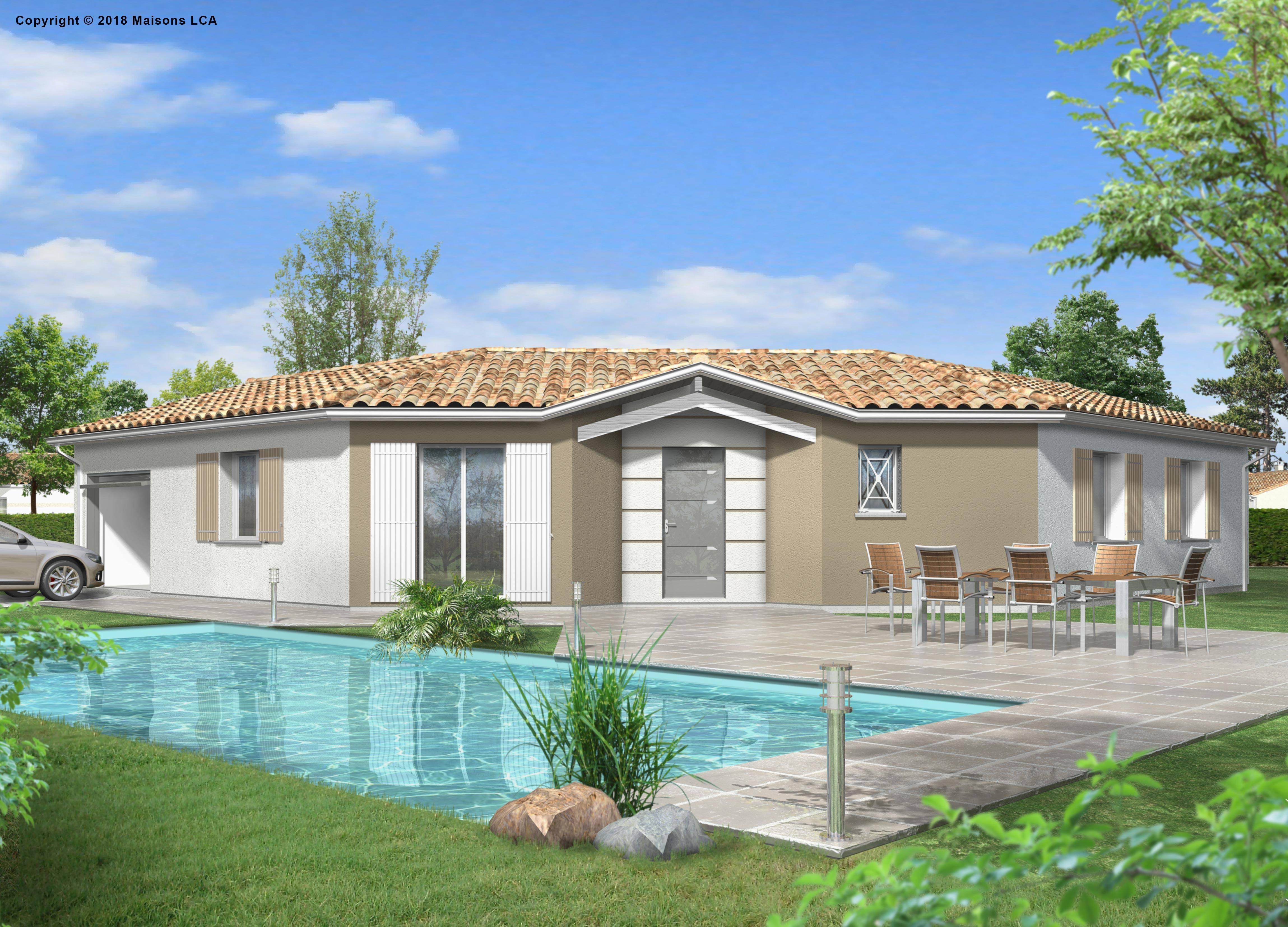Maisons + Terrains du constructeur LCA CREON • 100 m² • VILLEGOUGE