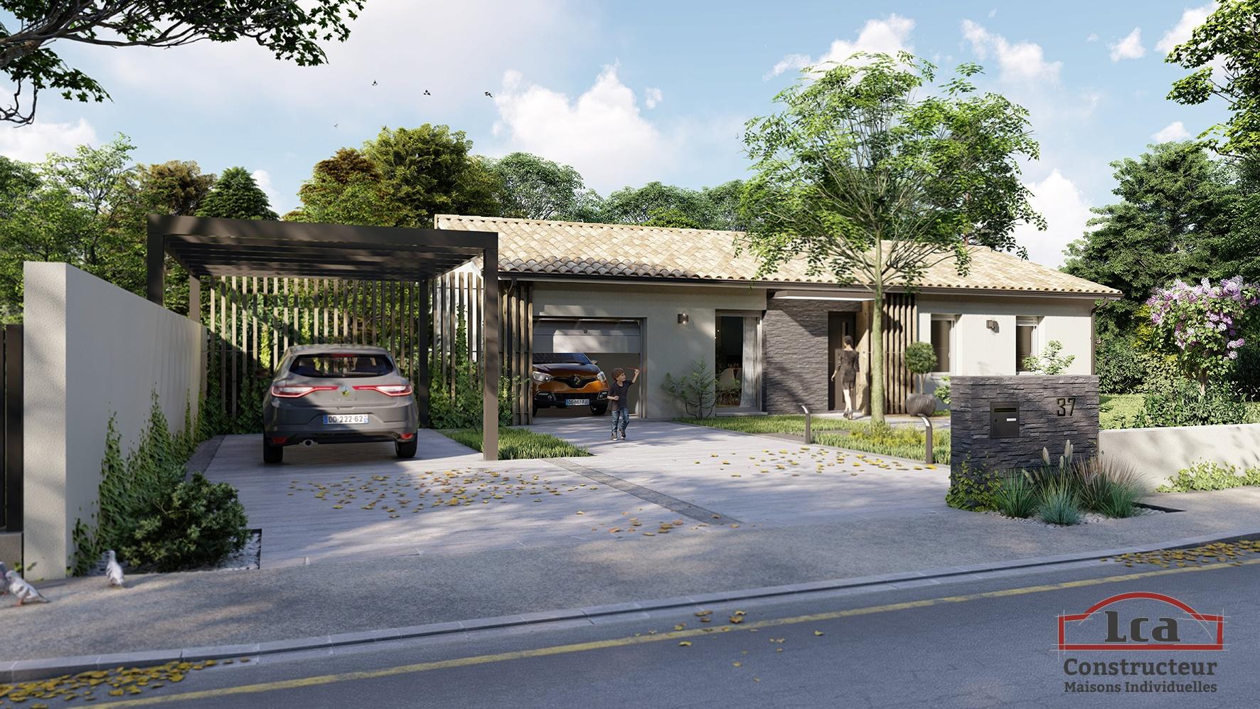 Maisons + Terrains du constructeur LCA MONT DE MARSAN • 89 m² • MONT DE MARSAN