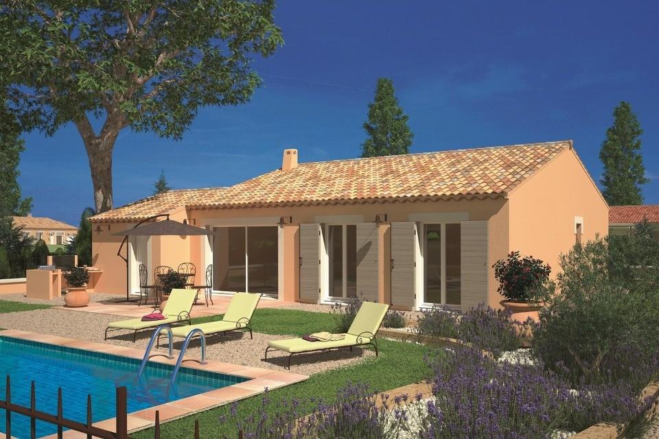 Maisons + Terrains du constructeur LES MAISONS DE MANON • 93 m² • CAMARET SUR AIGUES