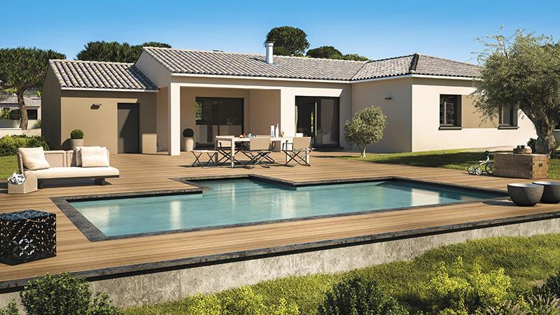 Maisons + Terrains du constructeur LES MAISONS DE MANON • 90 m² • VACQUEYRAS