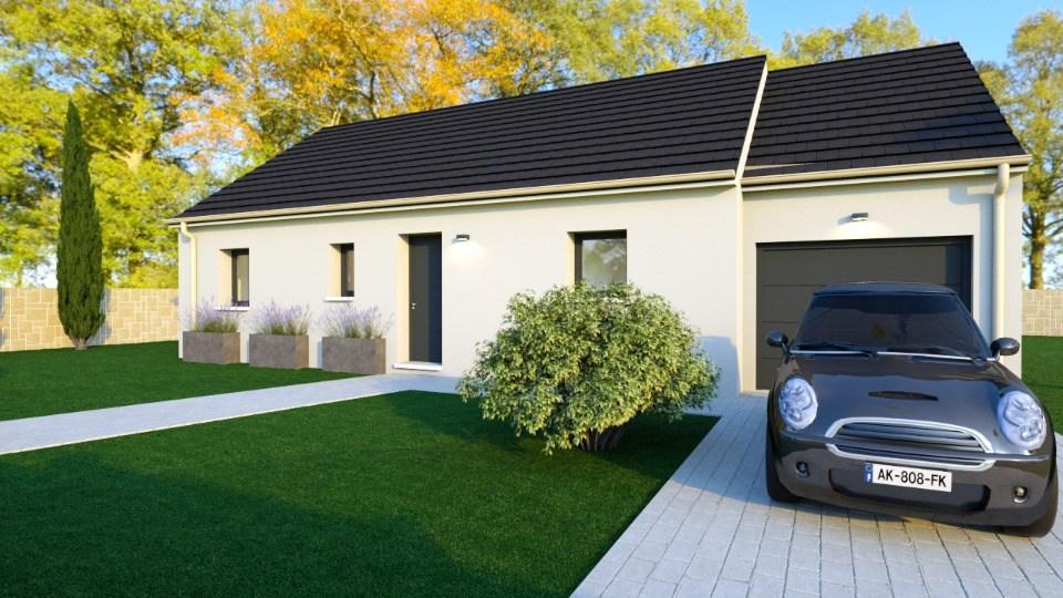 Maisons + Terrains du constructeur MAISONS BALENCY • 73 m² • GRAINVILLE SUR ODON