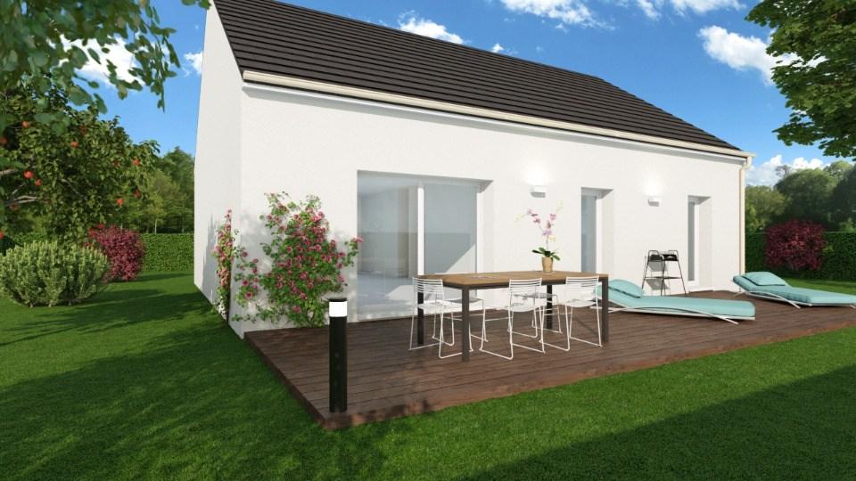 Maisons + Terrains du constructeur MAISONS BALENCY • 76 m² • CHEUX