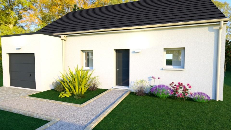 Maisons + Terrains du constructeur MAISONS BALENCY • 76 m² • BENOUVILLE