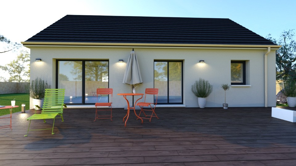 Maisons + Terrains du constructeur MAISONS BALENCY • 73 m² • CARPIQUET