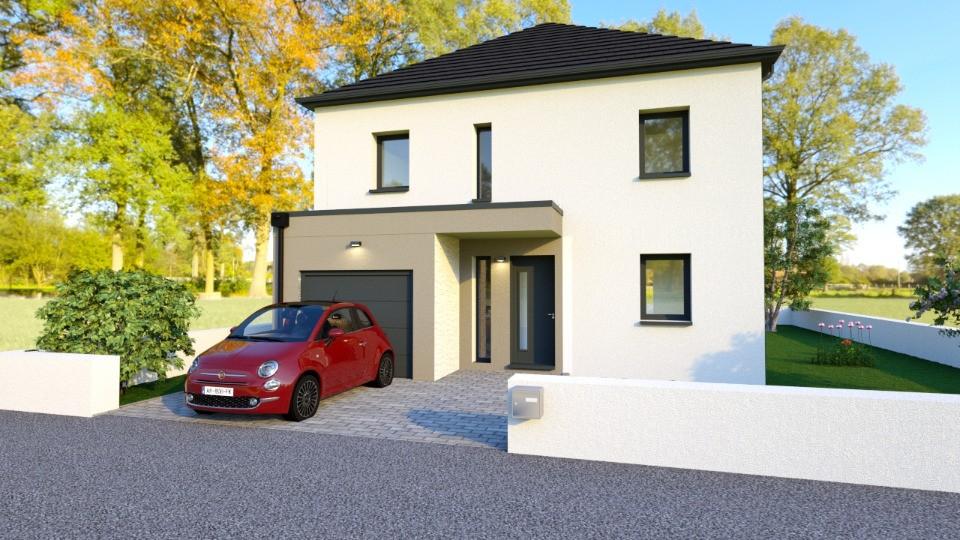 Maisons + Terrains du constructeur MAISONS BALENCY • 110 m² • FRENOUVILLE