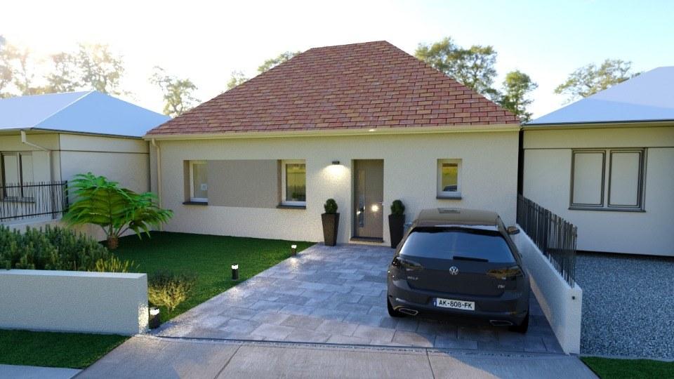 Maisons + Terrains du constructeur MAISONS BALENCY • 76 m² • EVRECY