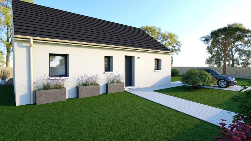 Maisons + Terrains du constructeur MAISONS BALENCY • 73 m² • BLAINVILLE SUR ORNE