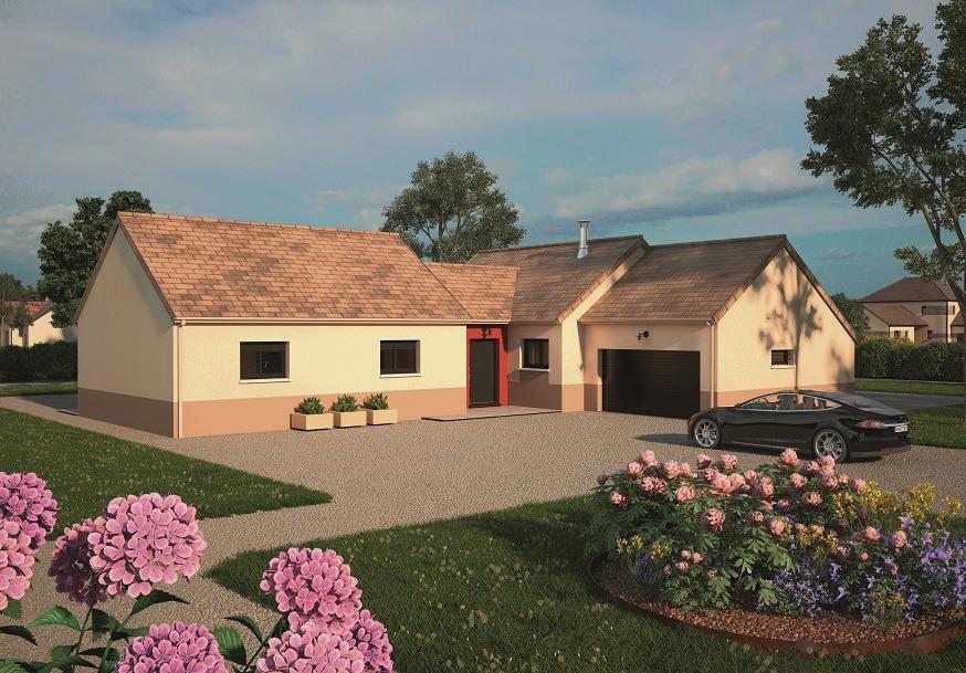 Maisons + Terrains du constructeur MAISONS BALENCY • 120 m² • MARSEILLE EN BEAUVAISIS