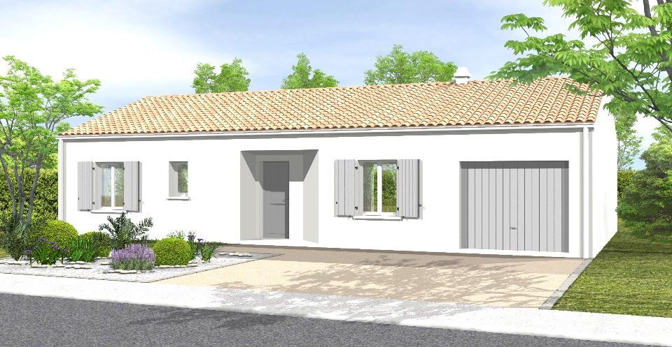 Maisons + Terrains du constructeur LMP CONSTRUCTEUR • 75 m² • MOUTIERS LES MAUXFAITS