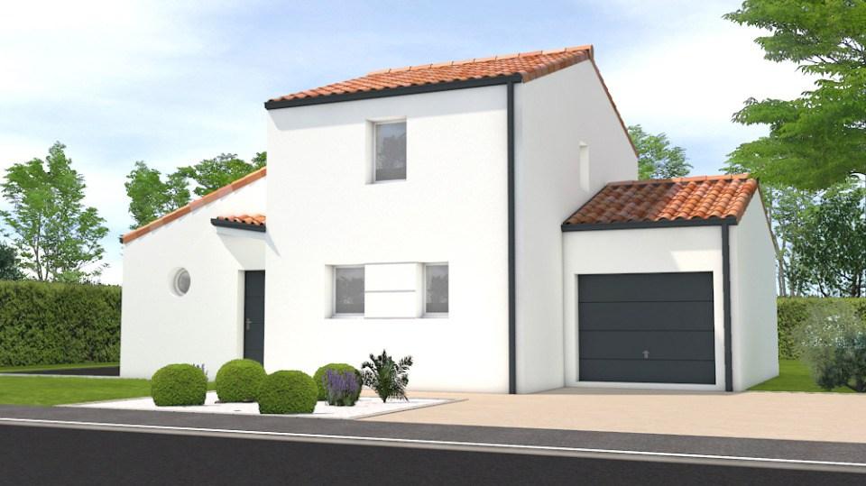 Maisons + Terrains du constructeur LMP CONSTRUCTEUR • 82 m² • AVRILLE