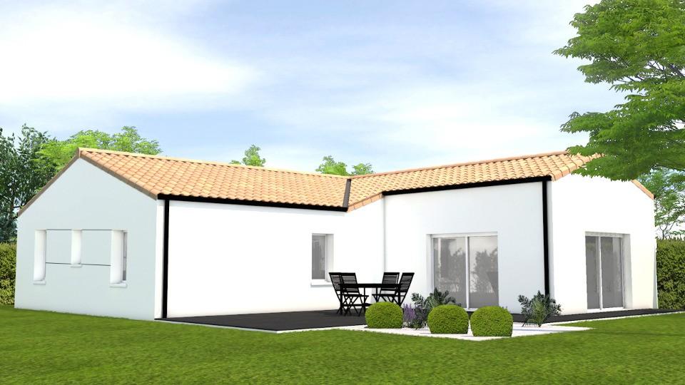 Maisons + Terrains du constructeur LMP CONSTRUCTEUR • 111 m² • TALMONT SAINT HILAIRE