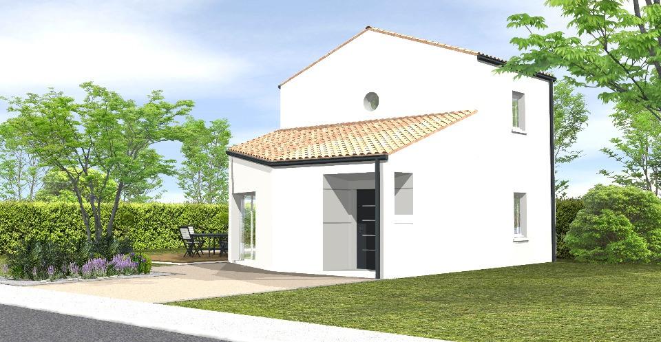 Maisons + Terrains du constructeur LMP CONSTRUCTEUR • 75 m² • TALMONT SAINT HILAIRE