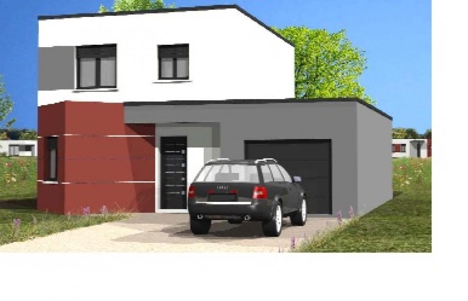 Maisons + Terrains du constructeur LMP CONSTRUCTEUR • 91 m² • NESMY