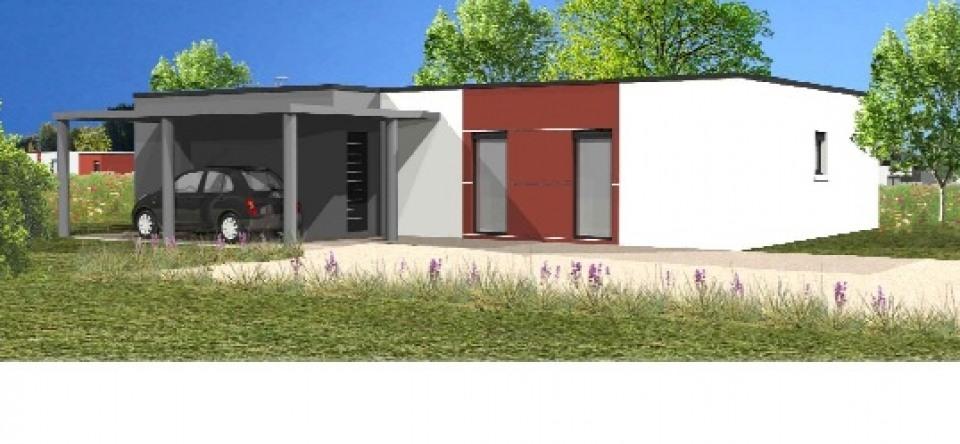 Maisons + Terrains du constructeur LMP CONSTRUCTEUR • 97 m² • LA CAILLERE SAINT HILAIRE