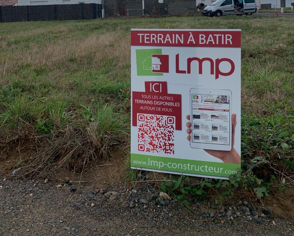 Terrains du constructeur LMP CONSTRUCTEUR • 614 m² • L'AIGUILLON SUR VIE