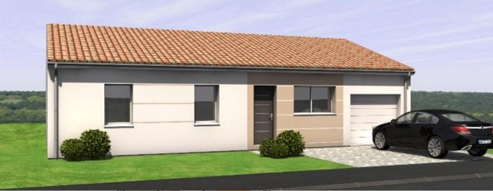 Maisons du constructeur LMP • 99 m² • TREIZE VENTS