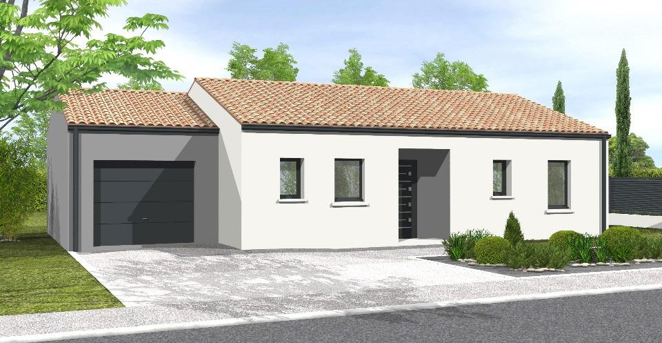 Maisons du constructeur LMP • 70 m² • SAINT FULGENT