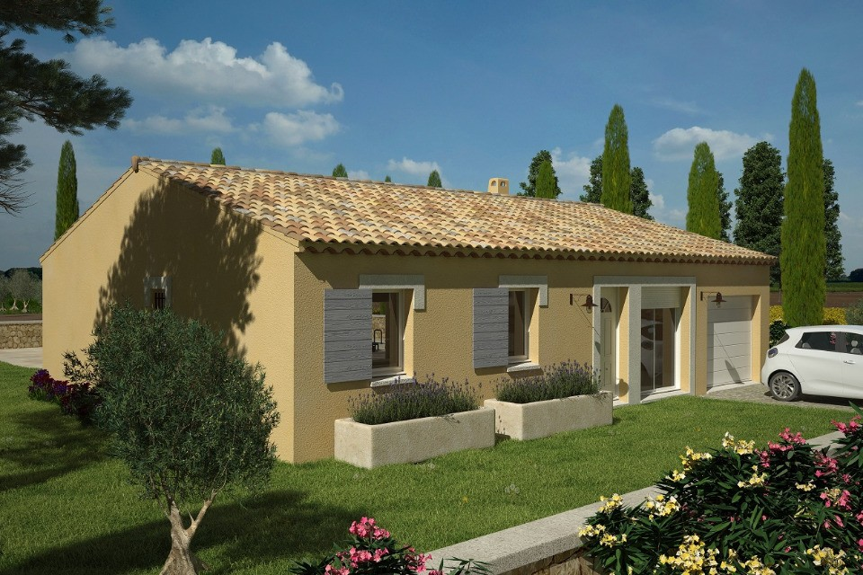 Maisons du constructeur LMP • 78 m² • SAINT PROUANT