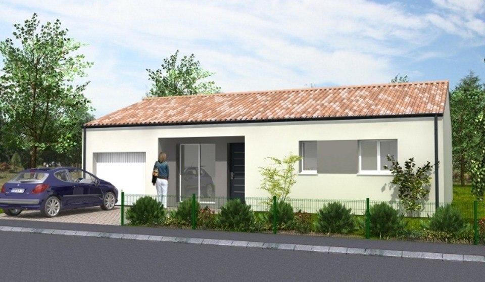 Maisons du constructeur LMP CONSTRUCTEUR • 78 m² • TREIZE SEPTIERS