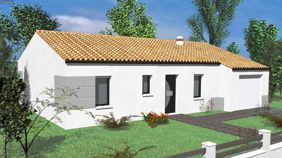 Maisons du constructeur LMP CONSTRUCTEUR • 79 m² • SAINT MARTIN DES TILLEULS