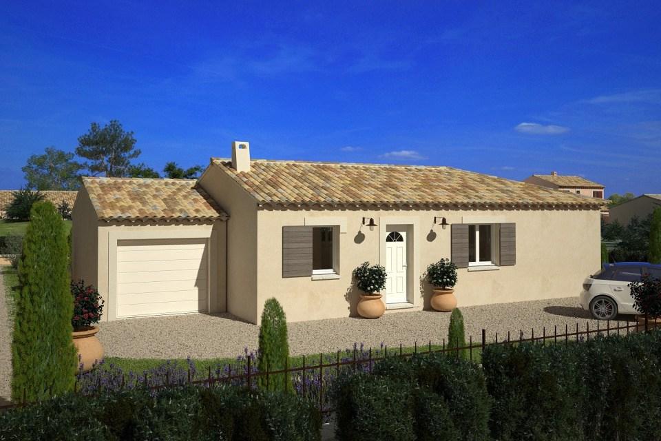 Maisons + Terrains du constructeur LMP CONSTRUCTEUR • 90 m² • SAINT PIERRE DU CHEMIN