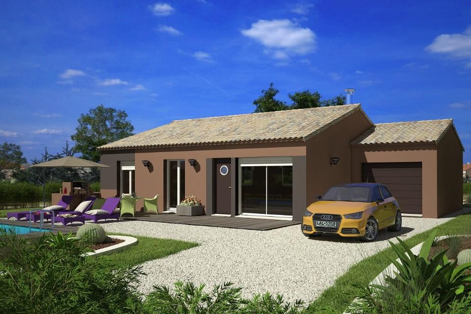 Maisons + Terrains du constructeur LMP CONSTRUCTEUR • 73 m² • TREIZE VENTS