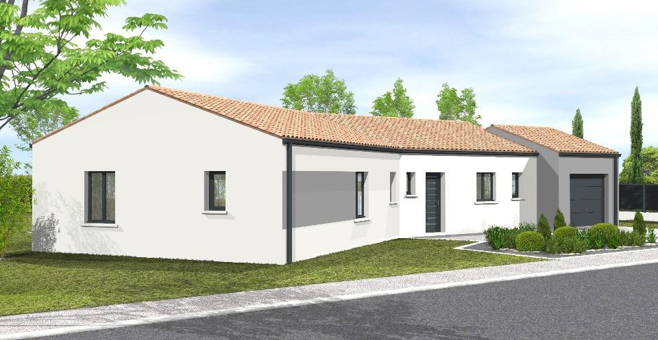 Maisons + Terrains du constructeur LMP • 108 m² • SAINT PIERRE DU CHEMIN