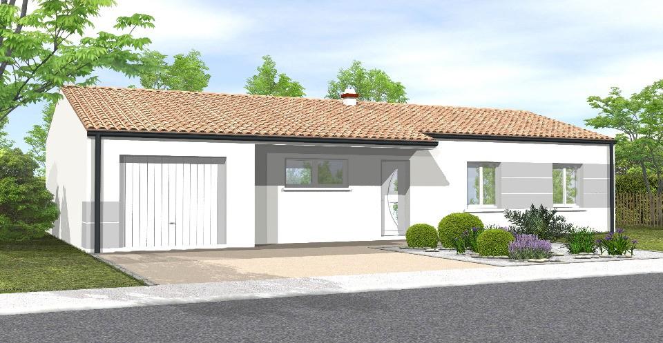 Maisons + Terrains du constructeur LMP • 87 m² • L'OIE