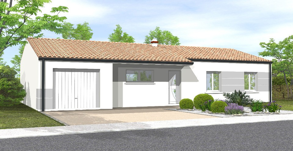 Maisons + Terrains du constructeur LMP • 87 m² • CHANTONNAY