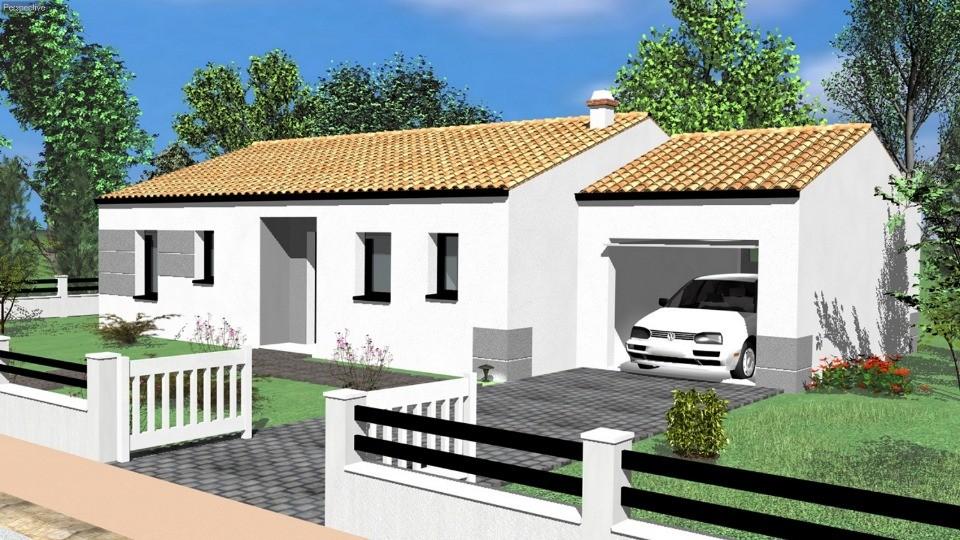 Maisons + Terrains du constructeur LMP • 73 m² • CHANTONNAY
