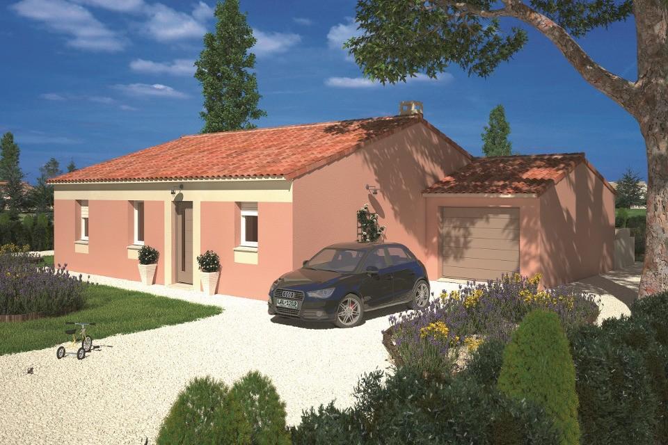 Maisons + Terrains du constructeur LMP • 60 m² • SAINT MICHEL MONT MERCURE