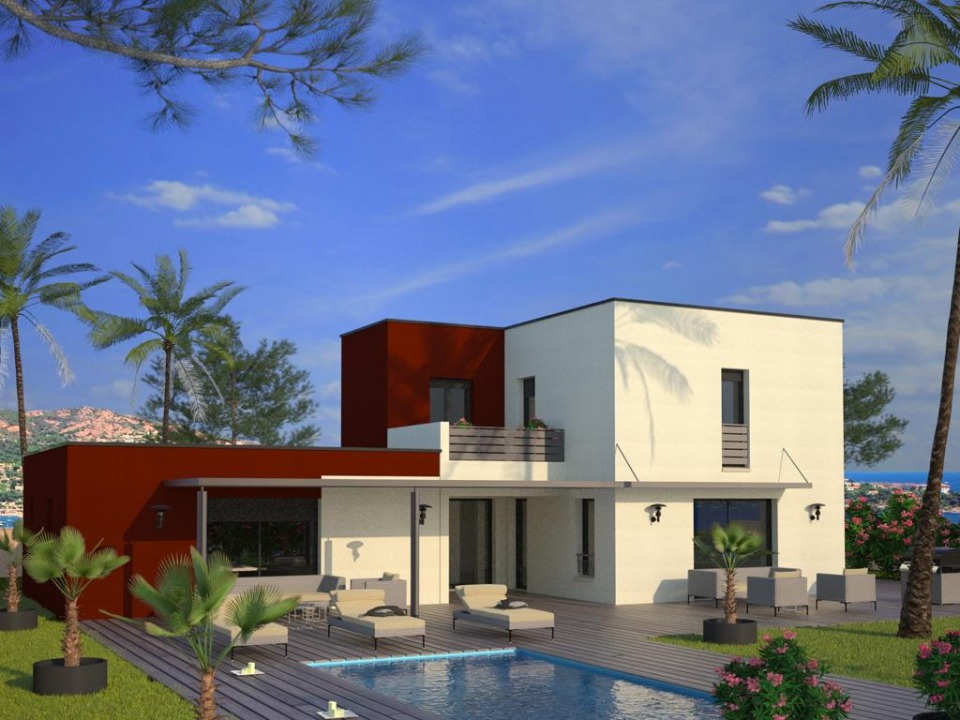 Maisons + Terrains du constructeur MAISONS FRANCE CONFORT • 160 m² • CEYRESTE