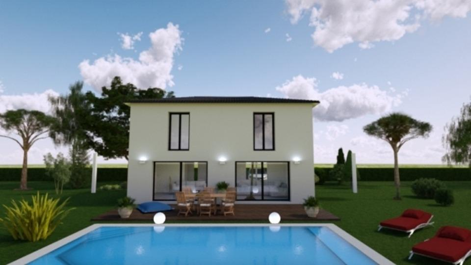 Maisons + Terrains du constructeur MAISONS FRANCE CONFORT • 110 m² • TRETS