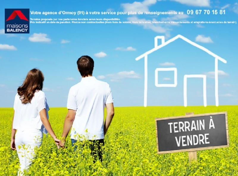 Terrains du constructeur MAISONS BALENCY • 1158 m² • GREZ SUR LOING