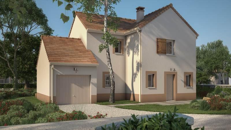 Maisons + Terrains du constructeur MAISONS BALENCY • 90 m² • ITTEVILLE