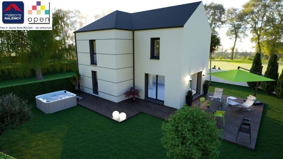 Maisons + Terrains du constructeur MAISONS BALENCY • 93 m² • EGLY