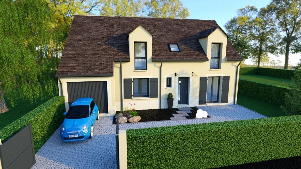 Maisons + Terrains du constructeur MAISONS BALENCY • 135 m² • CORBEIL ESSONNES