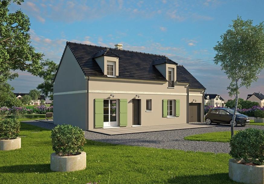 Maisons + Terrains du constructeur MAISONS BALENCY • 133 m² • LEUDEVILLE