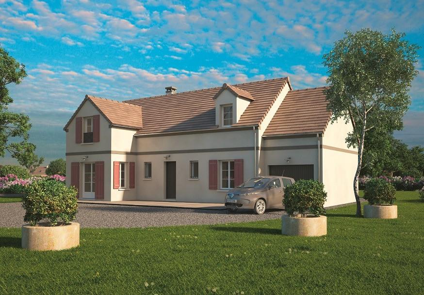 Maisons + Terrains du constructeur MAISONS BALENCY • 114 m² • GOMETZ LA VILLE