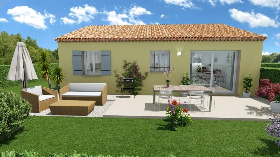 Maisons + Terrains du constructeur MAISONS FRANCE CONFORT • 73 m² • LAURIS