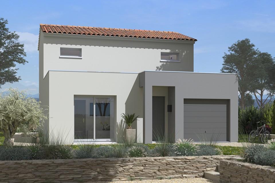 Maisons + Terrains du constructeur MAISONS FRANCE CONFORT • 92 m² • MIRABEAU