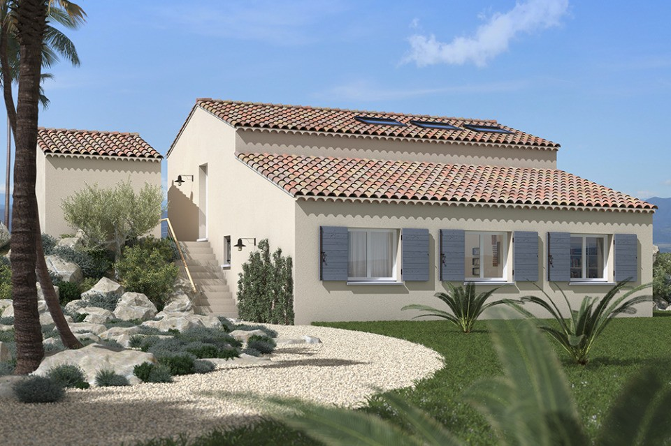 Maisons + Terrains du constructeur MAISONS FRANCE CONFORT • 100 m² • MIRABEAU