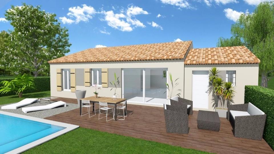 Maisons + Terrains du constructeur MAISONS FRANCE CONFORT • 80 m² • LA BASTIDE DES JOURDANS