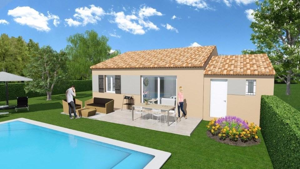 Maisons + Terrains du constructeur MAISONS FRANCE CONFORT • 60 m² • LA BASTIDE DES JOURDANS