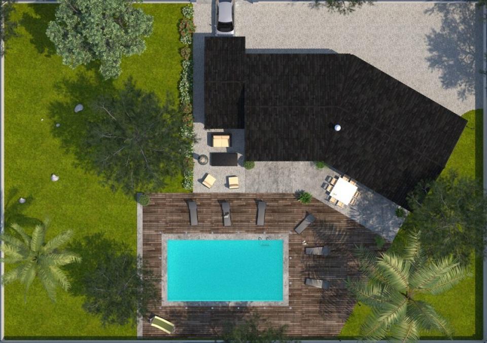 Maisons + Terrains du constructeur MAISONS BALENCY • 100 m² • UZES
