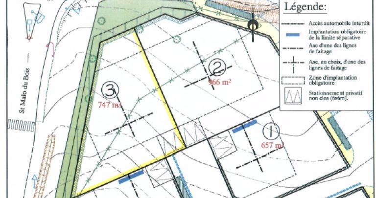 Terrains du constructeur MAISON D'EN FRANCE • 747 m² • SAINT MALO DU BOIS