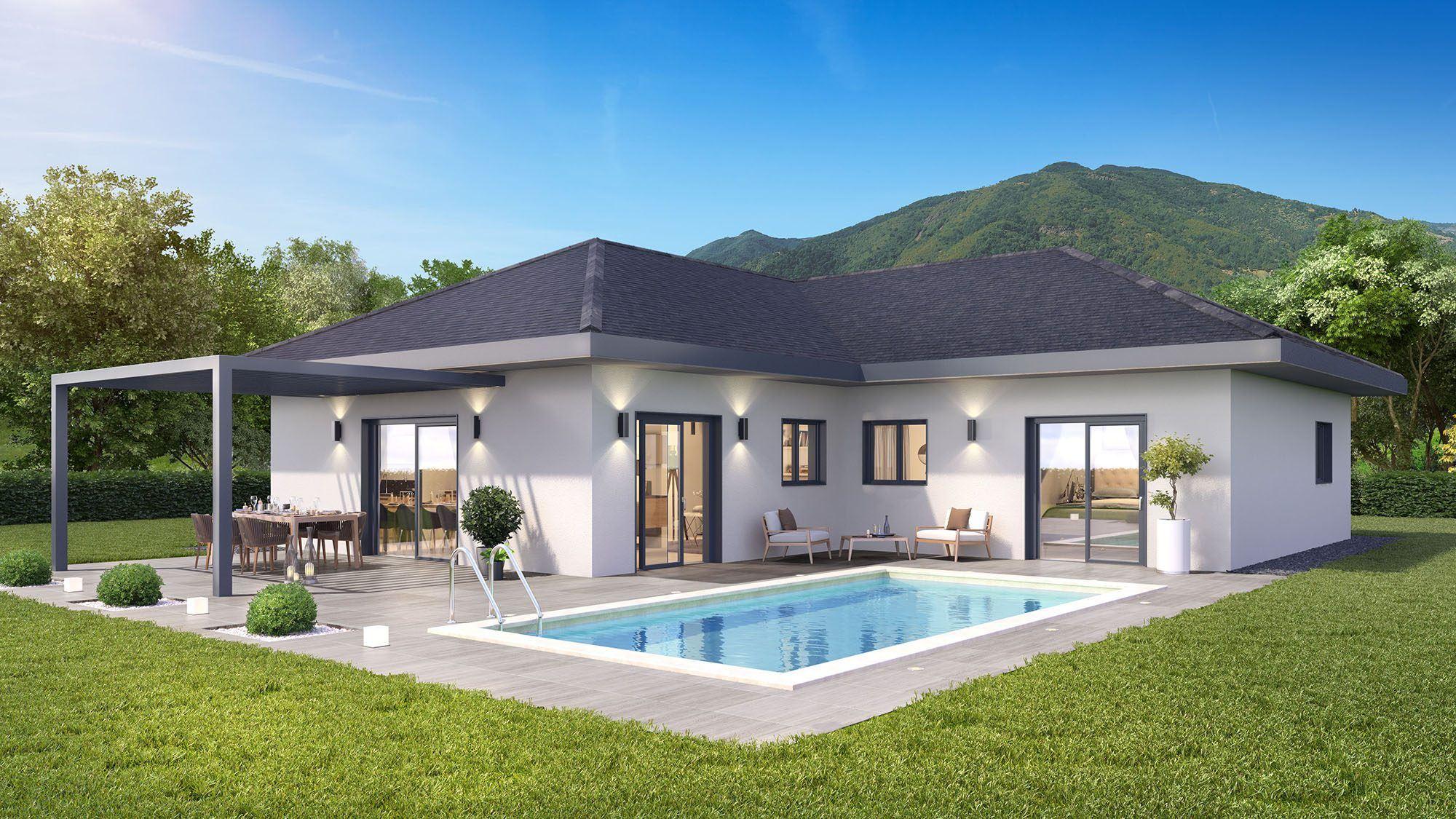 Maisons + Terrains du constructeur DEMEURES CALADOISES • 105 m² • LYAUD